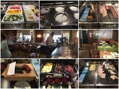レストランがウリなので朝食はホテルで。品揃えは豊富。
