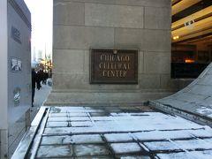 続いて訪れたのは、Chicago Cultural Center。 昔は図書館として使われていたそうです。