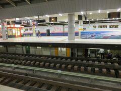 このレストランを選んだのは  東京駅から乗る新幹線に  アクセスがいいから   20時36分 あさま627号で 上田へ