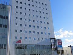 夜は寝るだけなので  駅前の ビジネスホテル泊  ホテルサンルート上田です