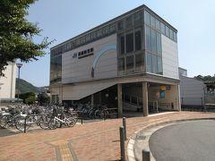 ●JR播磨新宮駅  駅の裏手。 今から、ひまわりを求めて、JR播磨徳久駅に向かいます。