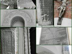 アルメニア教会。ここに14世紀からあり、ヨーロッパで最も古いアルメニア教会のひとつ。