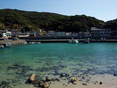 愛媛編の続き。  高知県・柏島にやってきました! エメラルドグリーンの海!