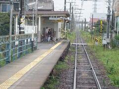 片面ホームの五ノ三(ごのさん)駅。
