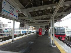 津島駅で降りる。