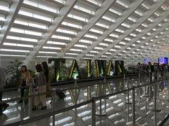 到着した桃園国際空港でレンタルのポケットWi-Fiを受け取り。 空港内で日本円2万をニュー台湾ドルに両替し、電車の駅へ。 空港-市街の往復パスが付いた、地下鉄の48時間パスを購入。  台北駅で地下鉄を乗り換え、8人は新北市のホテルへ。 台北市内のホテルに泊まる女子1人は台北駅で一旦お別れ。 別の飛行機で台北に来た、5人目の女子とそこで合流とのこと。