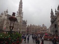 午後、ブリュッセルへ到着。 懐かしいグランプラス。13年ぶりです! 何も変わってないなあ。