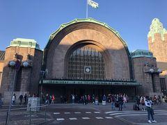 かっこいい!!ヘルシンキ中央駅。