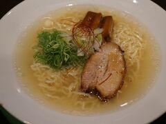 あっさりスープに、 海老出汁が効いています。