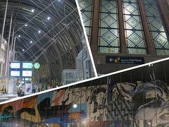 定刻(21:16)にストラスブール駅に到着しました。