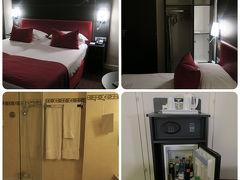 「プラスモノポール メトロポール」にチェックイン  ストラスブール駅から歩いて5分と判りやすく、 スタッフもとても感じの良いホテルです。  長い一日が終りました zzz....