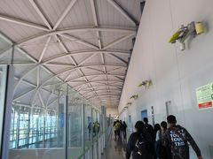 予定通りの時間に関西国際空港に到着。 本当に台湾と日本は近いですねー!