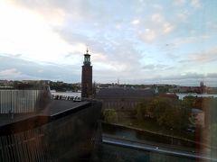 おはようございます!ストックホルムでの2日間がスタートします。 眺望が夜はわかりませんでしたが、良い眺めでした^^