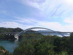 しまなみ海道で一番最初にできた大三橋を渡ると伯方島である。
