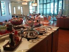 翌朝、この日の朝ご飯は、ホテルで。