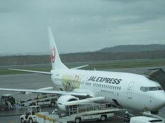 釧路空港に到着