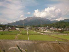 急いで新幹線の人に。  先月登った時は雲の中の伊吹山も今日はまさに登山日和なのが恨めしい。