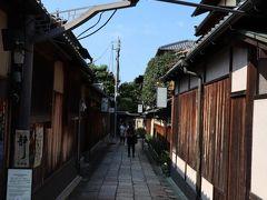 石塀小路。 京都に来た!と感じる場所。