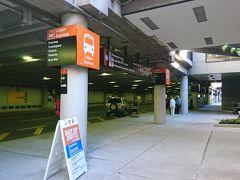 10/5 ボストン空港着。  Uberでホテルへ Uberのピックアップは場所が決まっています。 タクシーとは住み分けられていて、 最近はアメリカの空港ではちゃんと案内してくれますね。