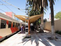 メクネス1日目(全行程4日目). 列車は定刻の11:31にMeknes Al Amir駅に到着.2時間強の列車旅でした.