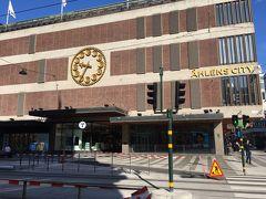 ストックホルム中心部のデパート、オーレンスシティ。