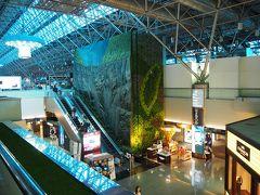 マッサージ後にMRTでサクッと桃園空港第2ターミナルへ。  チェックインも預け荷物も無いのでかなり時間ぎりぎりまで台北で遊べました。
