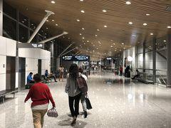 クアラルンプール国際空港(KLIA)に到着です。 なんとなく落ち着きますね。