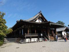 三経院とよく似た形の聖霊院。