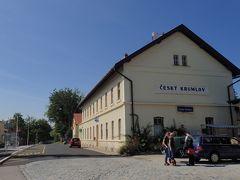 チェスキー クルムロフ駅