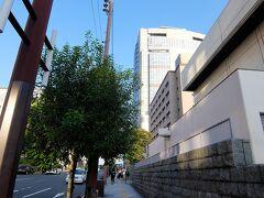 高層ビルはNHK大阪放送局で、その後ろに大阪歴史博物館があります。