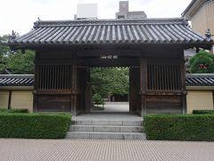 ●東長寺@地下鉄祇園駅界隈  地下鉄祇園駅近くの、東長寺にやってきました。 ここは、九州の真言宗九州教団の本山となっているお寺です。