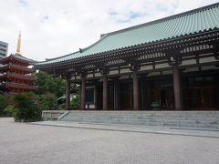 ●東長寺@地下鉄祇園駅界隈  奥には、平成23年に完成した五重塔があります。