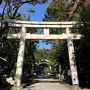先ず向かったのはこちら 岡崎神社です。