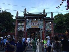 廣肇会館。広州と肇慶出身の中国人によって作られた集会所。 関羽が祀られていた。