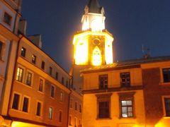 夜の旧市街をぶらぶら散策しながらホテルに帰る