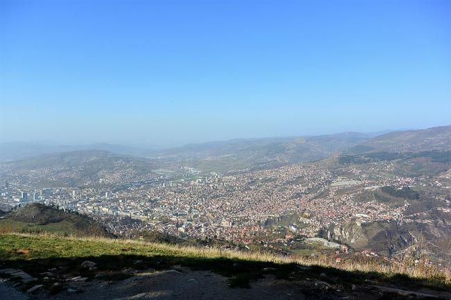 トレベヴィチ山(Trebevic)のサ...