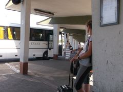 15:30 ホテルで荷物をピックアップ。ルブリンバスターミナルへ。