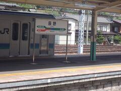 塩尻から辰野へやって参りました。  乗ってきた電車は辰野止まり。辰野で途中下車してみます。