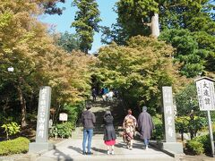 北鎌倉 円覚寺の門前  そろそろ紅葉し始めているでしょうか? 今年は台風の影響で、潮風を被った木々が多く、 綺麗な色付きが楽しめるのでしょうか。 この日は、門前で失礼しました。