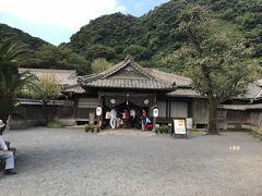 仙巌園の中の御殿を見学します。