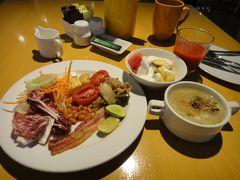 朝食(ホリデイインバンコク)