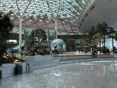 2-3時間で仁川着きました! 久しぶりです。  今回は空港でお買物の予定はないので、まったり過ごします。