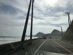 この後、広尾町に入り、一路、襟裳岬を目指します。明日は悪天候の予報なので、今日の予定に組み込みました。 国道336号線のうち、広尾町とえりも町間の道には「黄金道路」という愛称がついています。海岸沿いの眺めの良い道です。