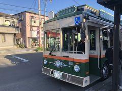 再びバスに乗って仙台城跡へ向かいます。