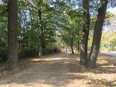 この日は土曜日、お天気に誘われて散策やピクニックに ブーローニュを訪れる家族連れも多かったです。