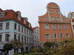 リガ旧市街の街並み。