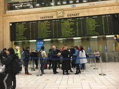 ブリュッセル中央駅です。