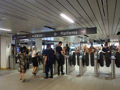 せっかくオパールカードを手に入れたので、帰りはタウンホール駅から2駅だけ電車に乗ってみました。