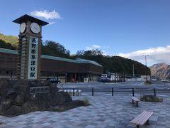 草津温泉への玄関口になっている長野原草津口駅です。 駅前には何もありません。
