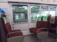 JR電車車内 クロスシート